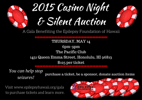 Casino Night and Silent Auction