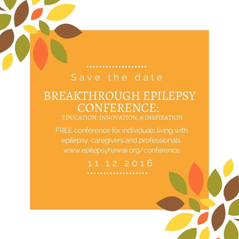 Breakthrough Epilepsy Conference