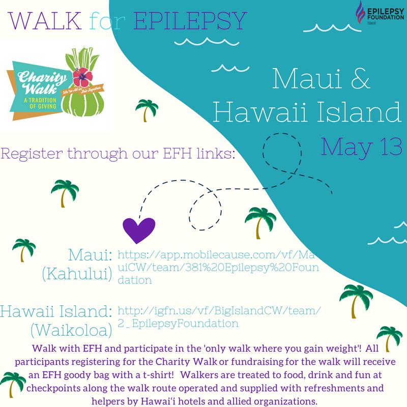 May 13, 2017 - Charity Walk MAUI & HAWAII Island