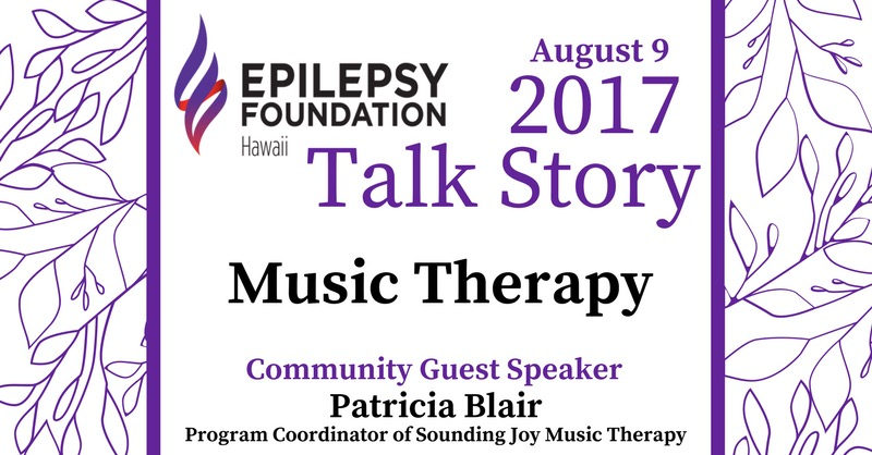 Talk Story: Music Therapy on August 9, 2017